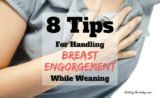 Breast Pain And Enlargement During The Weaning Process?