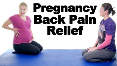 Illustration of How To Deal With Back Pain During Pregnancy After A Little Running?