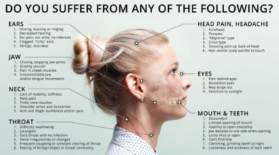 Illustration of Jaw Sounds When Opening The Mouth And Headaches Whether The Influence Of Sinusitis?