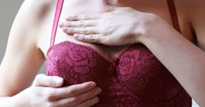 Illustration of Lumps In The Breast Do Not Enlarge And Do Not Hurt?