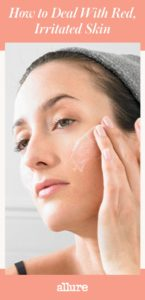 Illustration of How To Deal With Irritation On The Face?