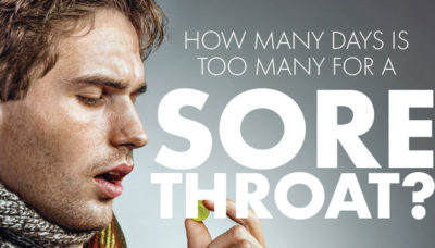 Illustration of Colds And Sore Throats Don't Go Away?
