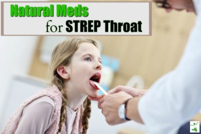 Illustration of Treatment Of Strep Throat That Never Heals?