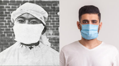 Illustration of The Use Of Masks For TB Sufferers?