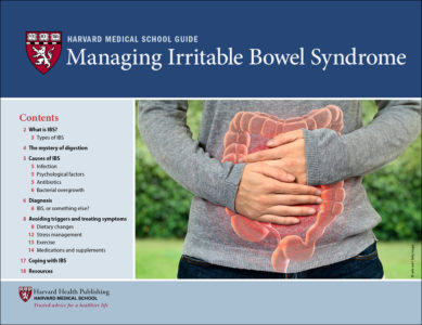 Illustration of How To Deal With IBS (irritable Bowel Syndrome)?