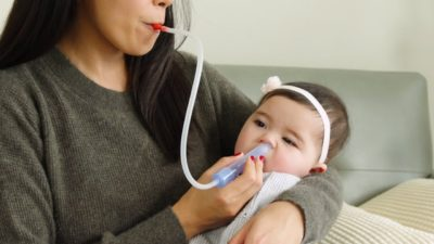 Illustration of How To Get Rid Of Mucus In A Blocked Baby's Respiratory Tract?