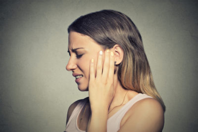 Illustration of Front Headaches Accompanied By Earaches?