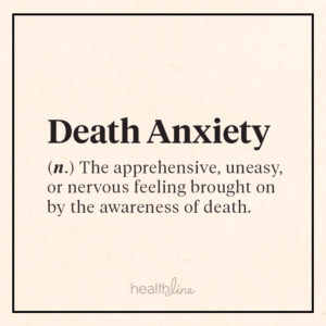 Illustration of Excessive Anxiety And Fear Of Death?