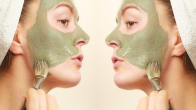 Illustration of The Procedure For Using Masks And Washing Facial Skin?