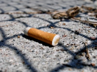 Illustration of Side Effects Of Accidentally Eating Cigarette Butts?