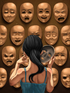 Illustration of The Characteristics Of People With Multiple Personalities?