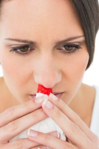 Illustration of Causes Of Nosebleeds When You Wake Up?