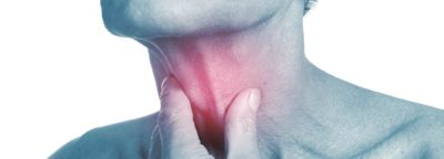 Illustration of When Swallowing Saliva Like A Lump In The Throat?