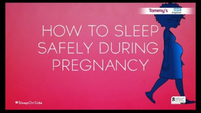 Illustration of Safe Sleeping Position In Pregnant Women Who Also Experience Cysts?