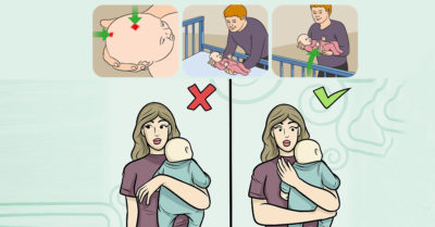 Illustration of 2 Months Baby Holding Position?