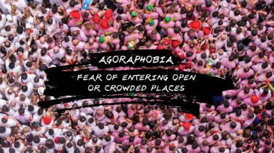 Illustration of Feeling Scared And Panic When In A Crowded Place?