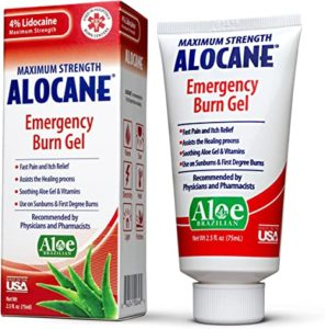 Illustration of Burn Ointment That Dries On Burns?