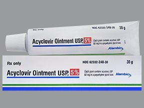 Illustration of Is Acyclovir Ointment Safe For 2-year-old Children?