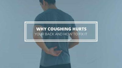 Illustration of The Cause Of Pain In The Back If Coughing?
