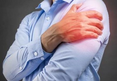 Illustration of Prolonged Pain In The Left Arm, Shoulder, And Back Of The Head?