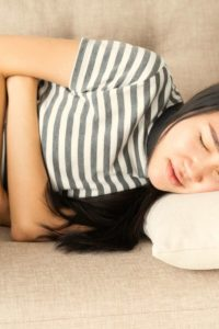 Illustration of Stomach Aches And Headaches Suddenly?