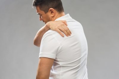 Illustration of The Back Hurts When Touched.?