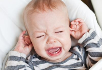 Illustration of The Cause Of Babies Often Pulling Ears?