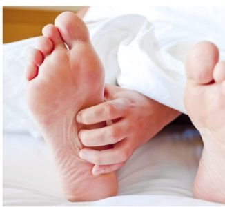 Illustration of The Cause Of The Soles Of The Feet Is A Pulse Like Stepping On A Large Stone?