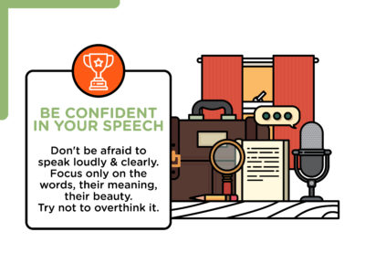 Illustration of Speak Not Smooth, Unclear And Too Fast?