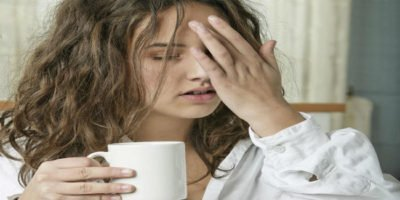 Illustration of Nausea And Dizziness After Drinking Coffee.?