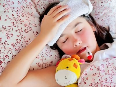 Illustration of Children Always Fall Asleep And Are Weak After A Fever.?