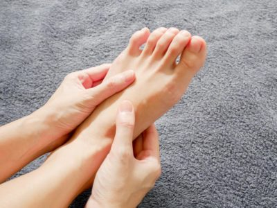 Illustration of Tingling Feet That Feel Stiff And Sore?