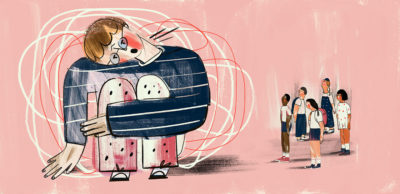 Illustration of Autism And The Desire For Social Isolation?