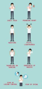 Illustration of How To Overcome Panic Disorder, Often Worry And Fear Without Cause?