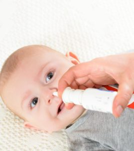 Illustration of Nasal Discharge (booger) Is Ingested In Infants Aged Less Than 2 Months?