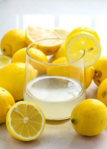 Illustration of Use Of Lemon Water With A Mixture Of Hot Water To Overcome Cancer?