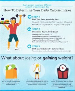 Illustration of How Many Calories Does Your Body Need In A Day?