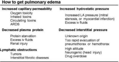 Illustration of Causes And Ways To Deal With Pulmonary Edema?