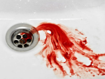 Illustration of When You Spit Out Blood?