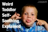 The Body Of A 2-year-old Child Stiffens While Straining?