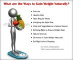 How To Gain Weight Naturally And Healthily?