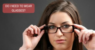 Illustration of Do You Have To Wear Glasses?