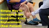 How Long Does It Take For The Knee To Bend Back?