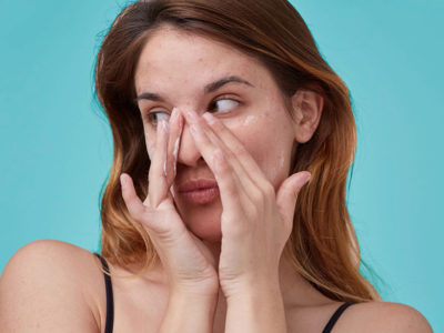 Illustration of Does Irregular Menstruation, Pain And Acne Appear Due To The Hormone Estrogen?