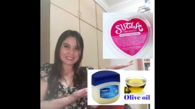Illustration of Is It Safe To Use Vaseline Petroleum Jelly To Tighten Breasts?