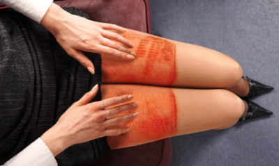 Illustration of Is It Dangerous To Use A Laptop On Your Thigh?