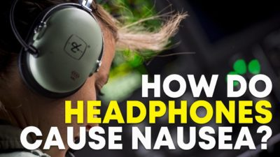 Illustration of Why Do I Feel Sick When I Use A Headset?