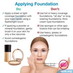 Illustration of Will Using Powder Make Skin Breakouts Become Irritated?