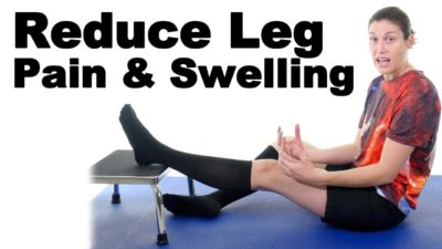 Illustration of How To Overcome Leg Pain Due To Sprained From One Year Ago?