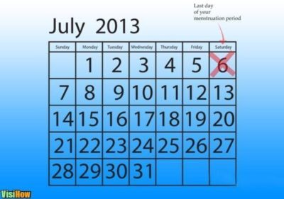 Illustration of If Menses Last December, When Is The Exact Date Of The 4-month-old Fetus?
